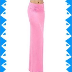 🆕 Skirt-Maxi, Pink
